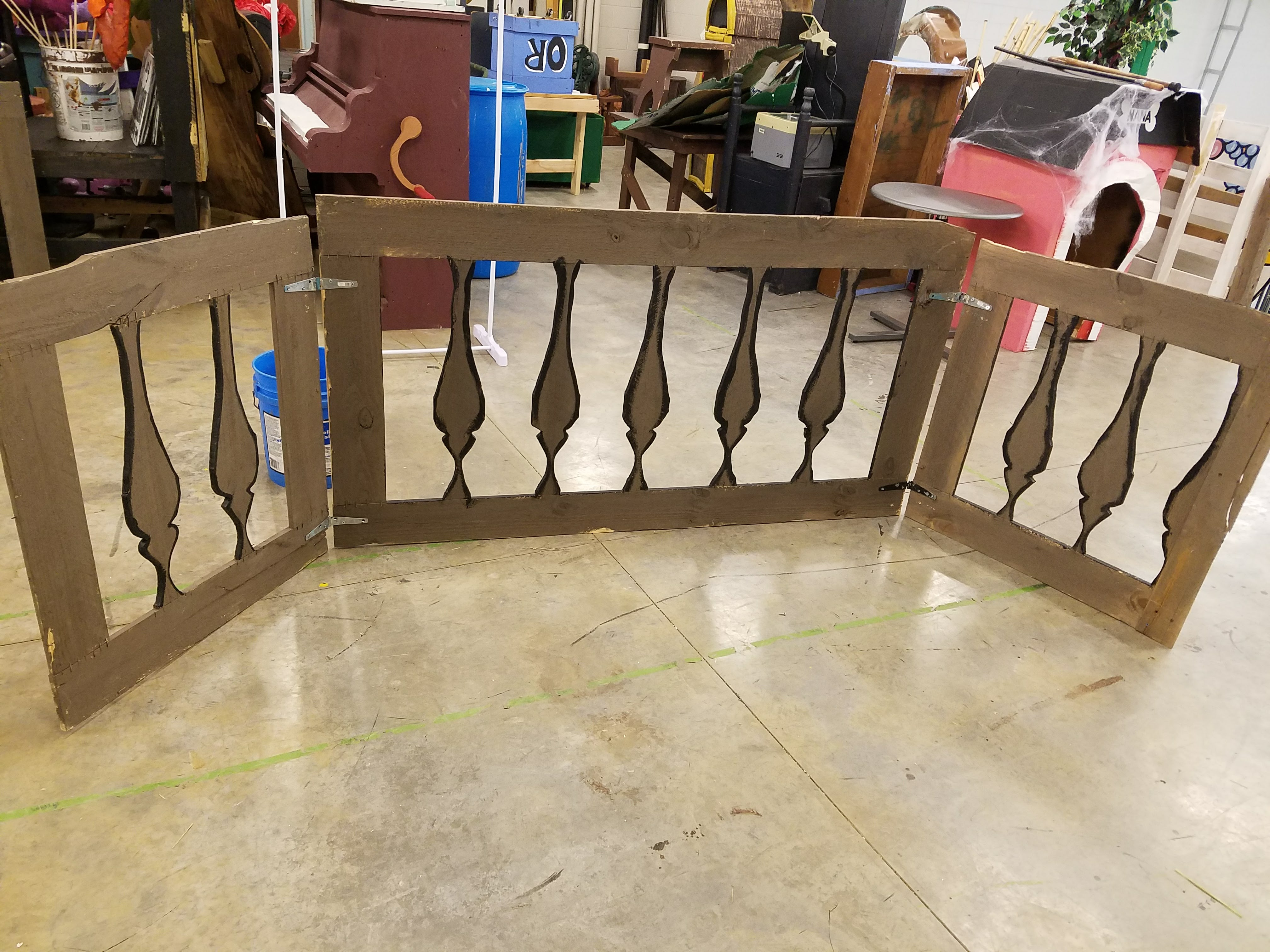 Jolly Roger Railing tutorial
