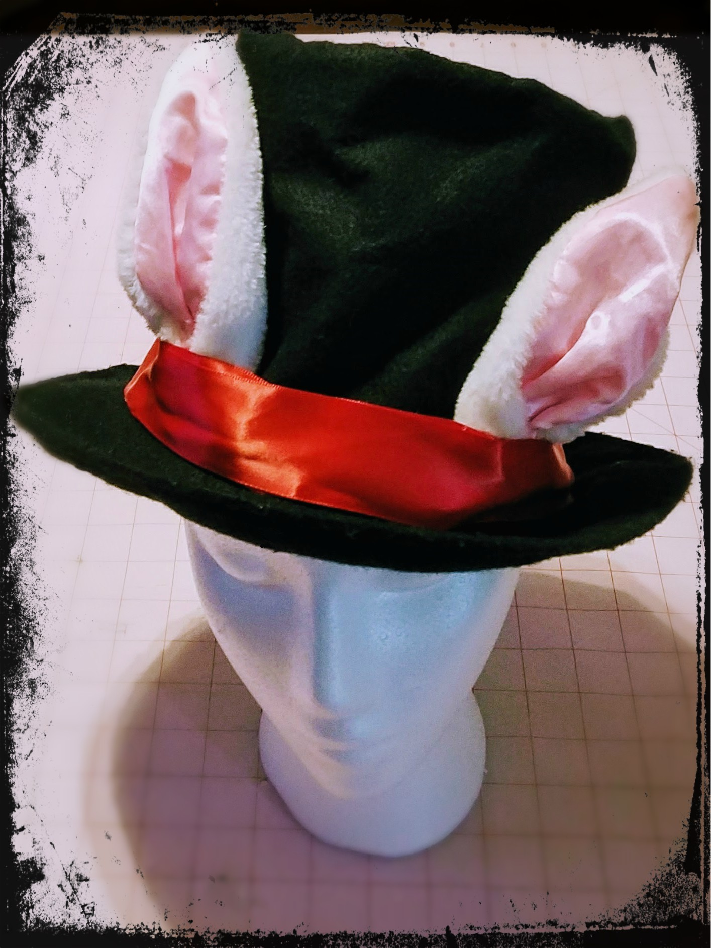 White Rabbit Hat Tutorial