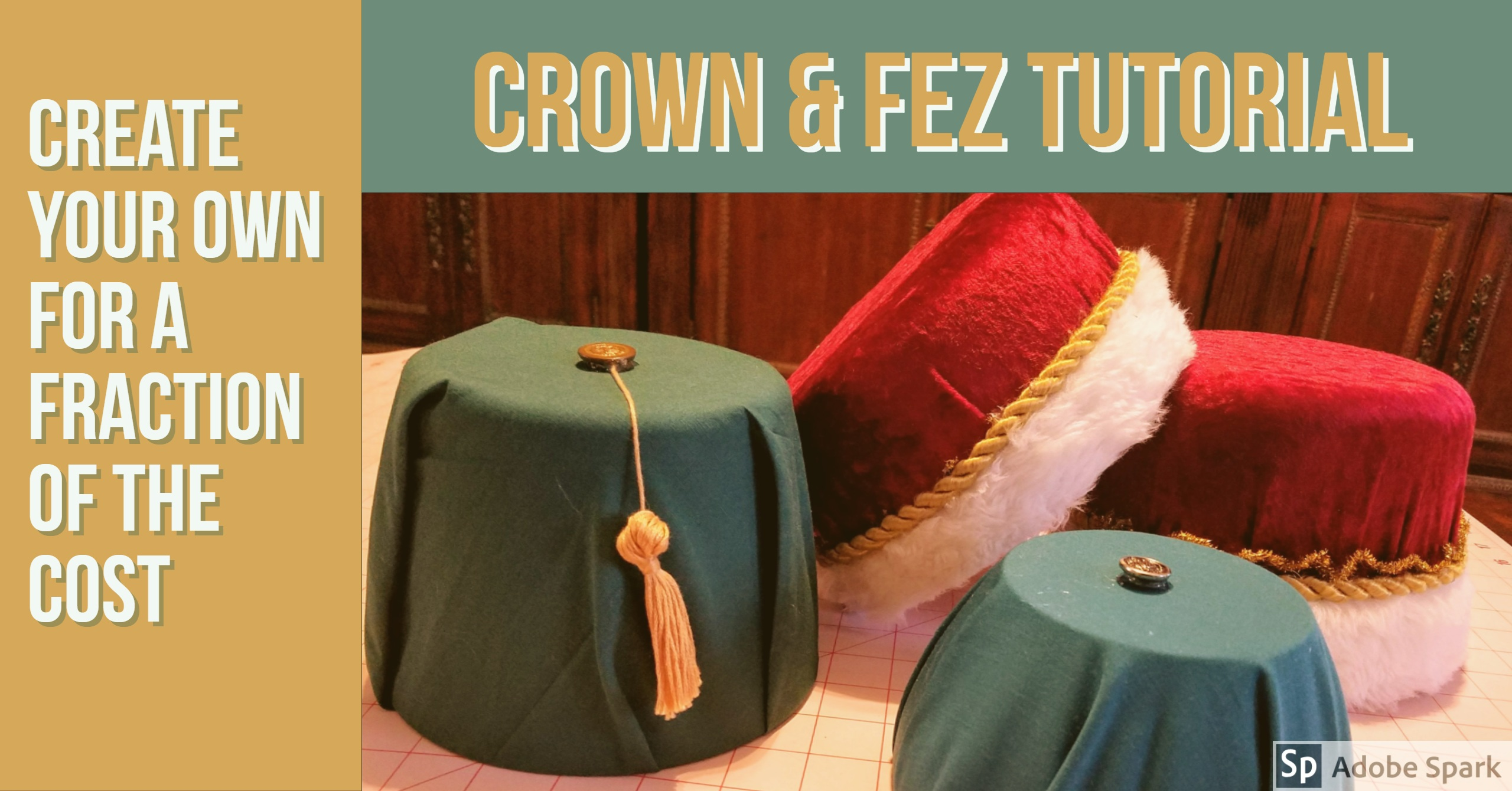 Crown & Fez Tutorial