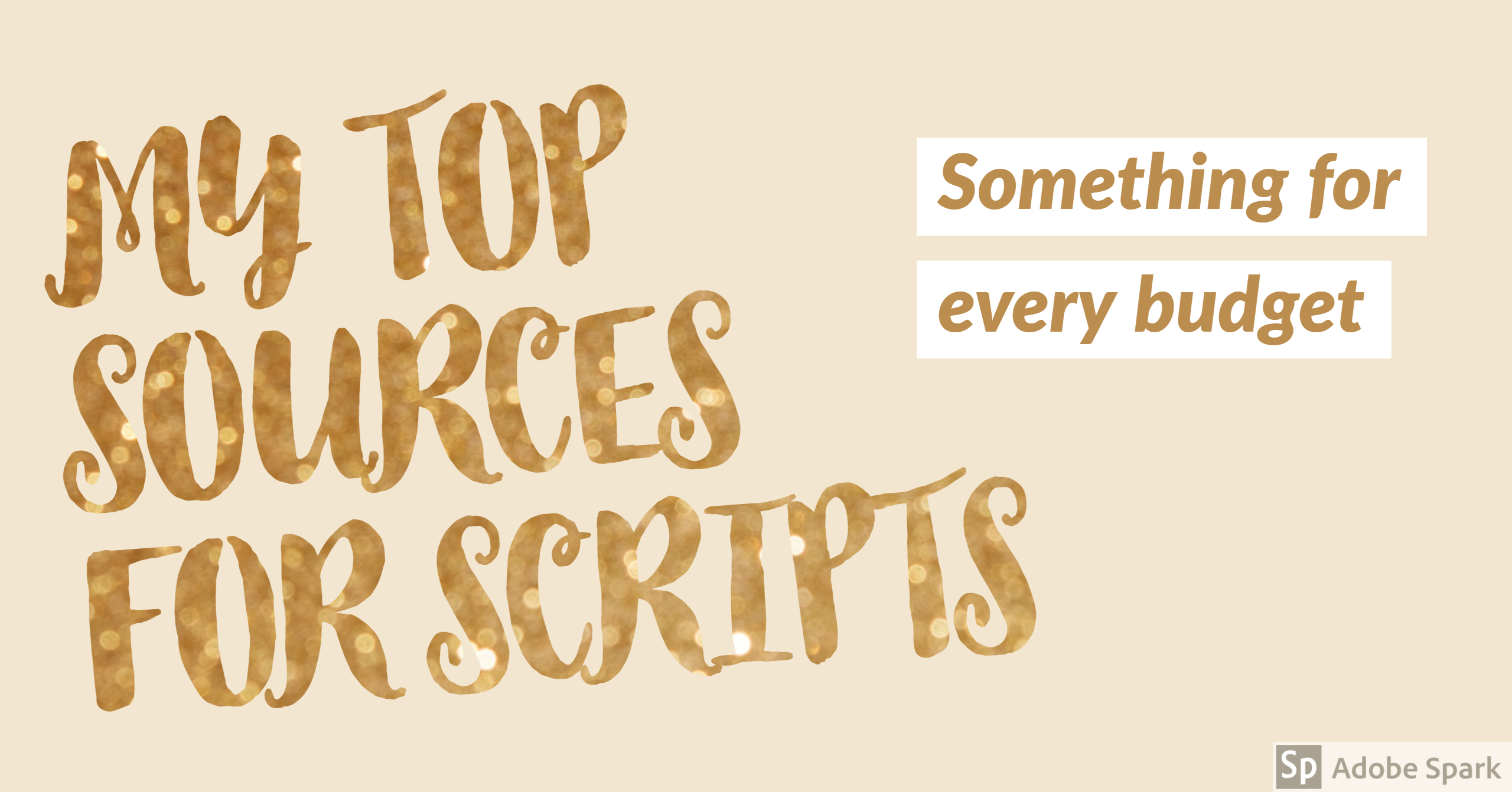 My Top Script Sources