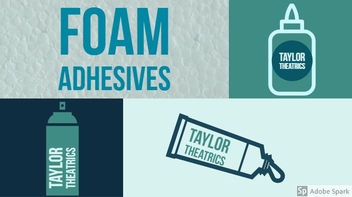 Foam Adhesives That wont Dissolve Your Foam