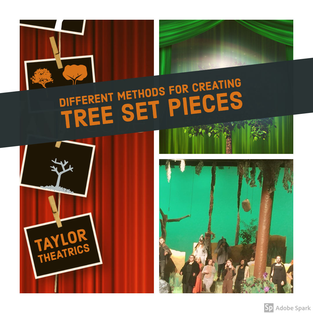 Different Methods for Creating Tree Set Pieces