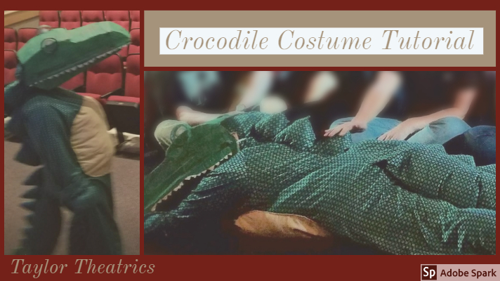 Crocodile Costume Tutorial