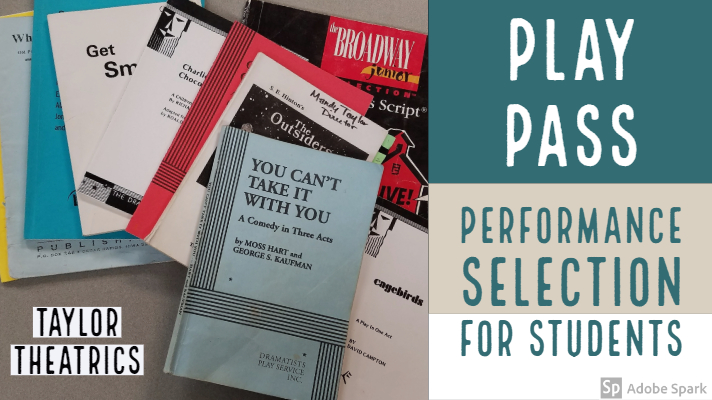 Play Pass: A Helpful Guide to Play Selection for Students