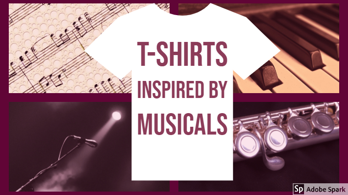 Musically Inspired T-Shirts